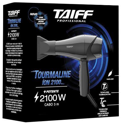 Secador de Cabelos Taiff Tourmaline Ion Cerâmica 2100w Profissional