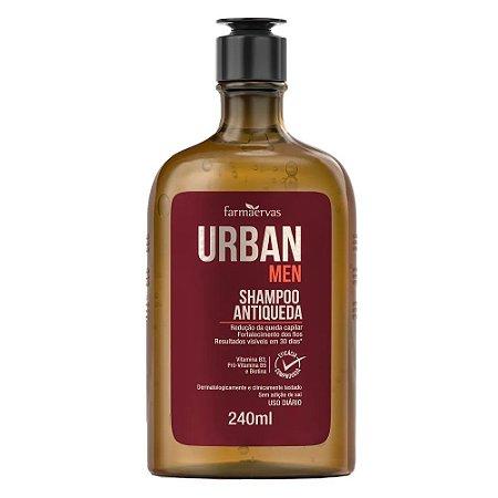 Shampoo Antiqueda Farmaervas Urban Men (240ml)