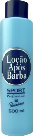 Loção Após Barba Palmindaya Profissional - Sport │ Aloe Vera │ Mentol (500 ml)