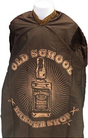 Capa de Corte em Tafetá - Old School - Tam. Adulto (Padrão)