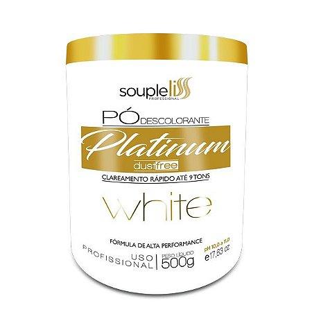 Souple Liss Pó Descolorante Platinum White 500g