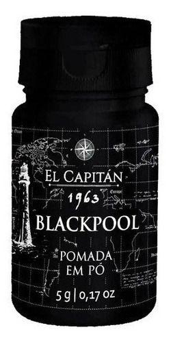 Pomada em Pó Black Pool - El Capitán 1963 - 5g