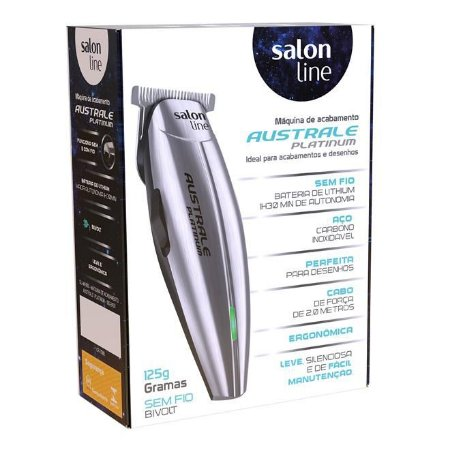 Máquina de Acabamento Salon Line Australe Platinum (Bivolt)