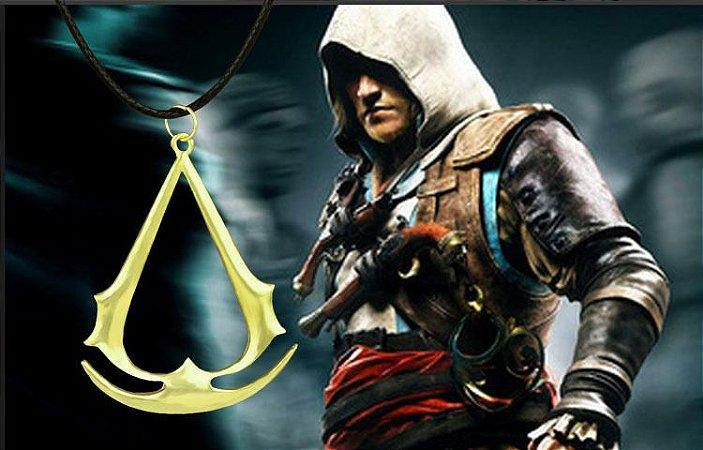 Colar Cordão com Pingente Assassins creed Ezio Deiss Mond