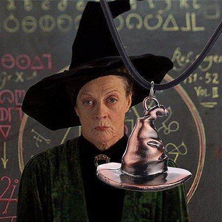 Colar Chapéu Mágico Harry Potter