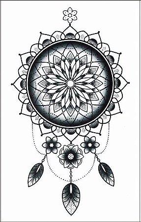 Tatuagem Temporária Filtro dos Sonhos