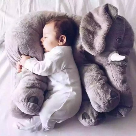 Almofada Travesseiro Big Elefante Sem Enchimento