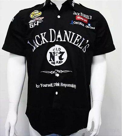 Camisa Nascar Jack Daniel's Masculina
