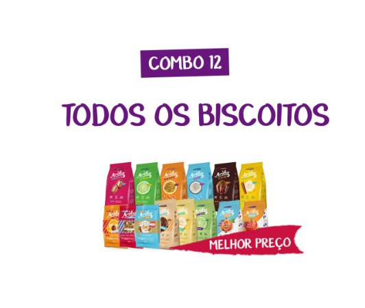 Combo 12 - Biscoitos Mix Total