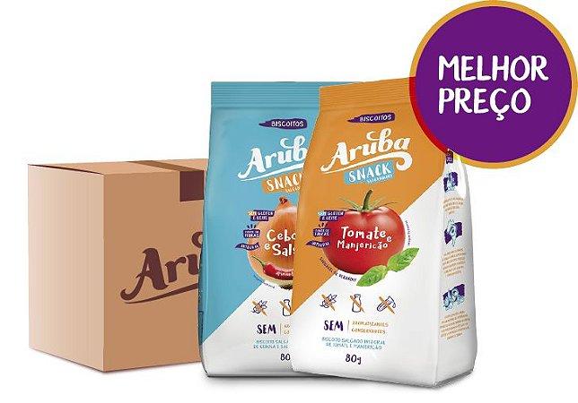 Caixa Aruba Mix Salgado - Cx. 24 pacotes