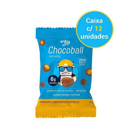 Caixa Chocoball Amendoim - 12 unidades