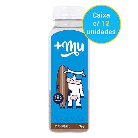Caixa Garrafinha de Chocolate Tradicional -  12 unidades