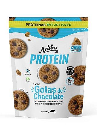 Aruba Protein - Baunilha com Gotas de Chocolate - 40gr