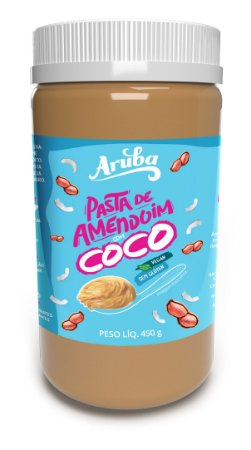 Pasta de Amendoim - Coco - 450gr