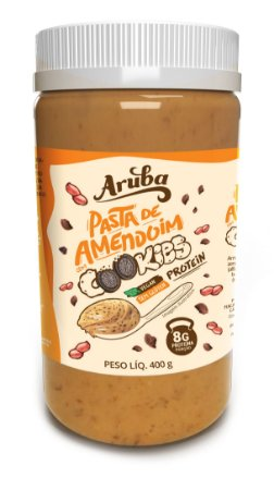 Pasta de Amendoim Protein - Cookies - 400gr