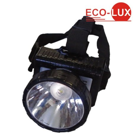 Lanterna De Cabeça Eco-lux 163 Recarregável