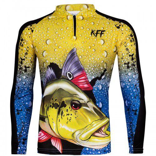 camiseta de pesca manga longa KFF60 KING BRASIL