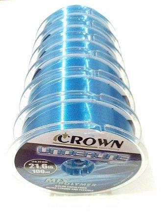 Linha Monofilamento Crown Modelo Underline 100 Metros