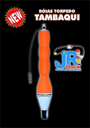 Boia Torpedo Tambaqui laranja JR PESCA 65 gramas