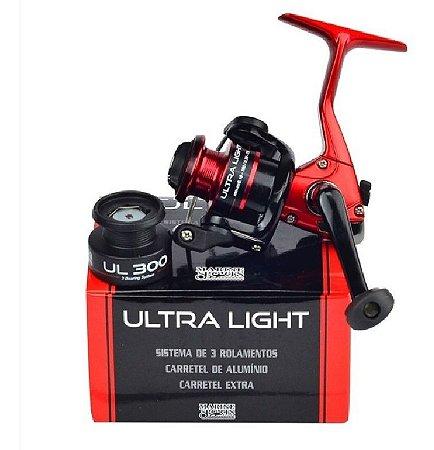 Molinete Ultra Light Ul 300 3 Rolamentos Marine Sports
