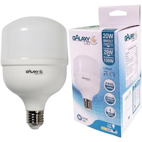 LAMPADA LED ALTO FATOR 20W 6.500W GALAXY