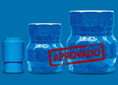 BLOQUEADOR DE AR REDUTOR CONTA DE AGUA RESIDENCIAL 3/4 PVC AQUAMAX