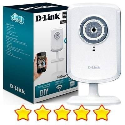 CAMERA D LINK S/FIO NETWORK WIRELESS