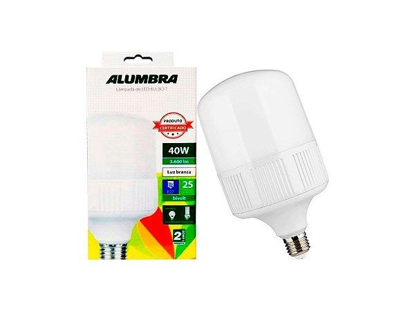 LAMPADA LED ALTO FATOR 40W 6.500K ALUMBRA