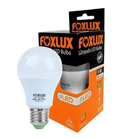LAMPADA LED PERA 9W 6500K FOX LUX