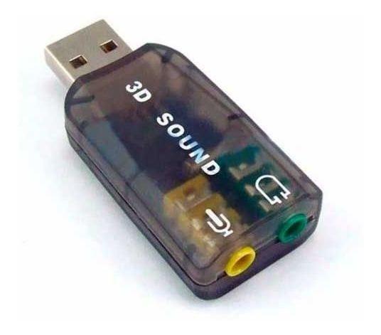 ADAPTADOR DE SOM 5.1 USB AUDIO AD-01