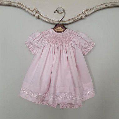 Conjunto Batinha Bordado Luxo Rosé
