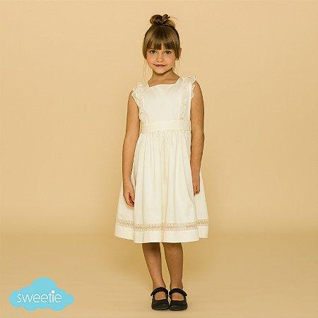Vestido Meghan Off White