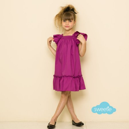 Vestido Bolonha Fuchsia