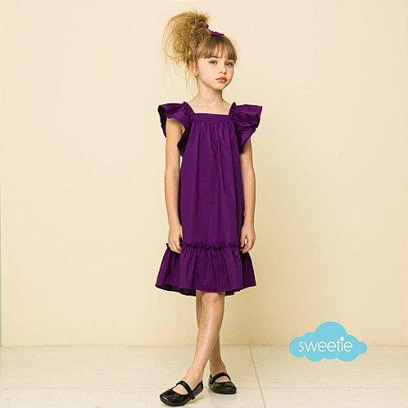 Vestido Bolonha Roxo