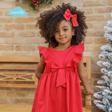 Vestido Peônia Vermelho