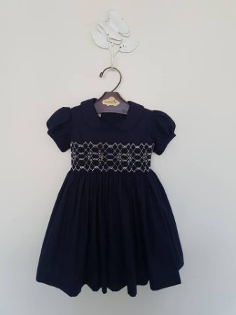 Vestido Casinha de Abelha Blue