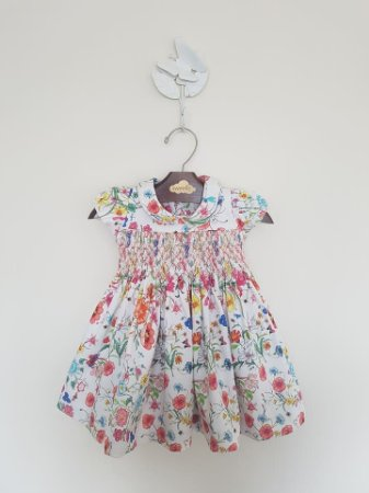 Vestido Casinha de Abelha Botanico