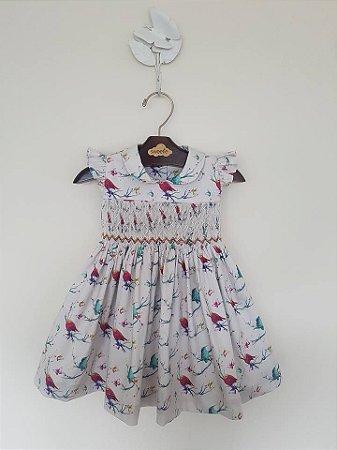 Vestido Casinha de Abelha Bird