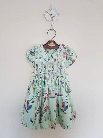 Vestido Casinha de Abelha Green