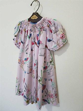 Vestido Batinha Gaiolas