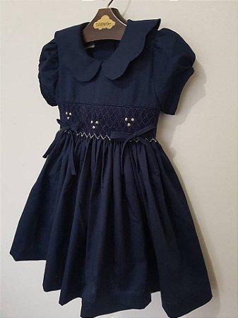 Vestio bordado Blue Girl