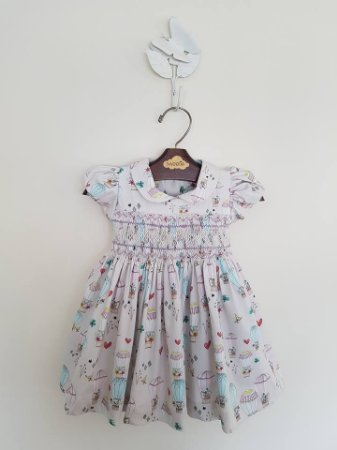 Vestido casinha de Abelha Balões Girl