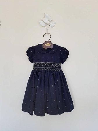 Vestido Casinha de Abelha Lu