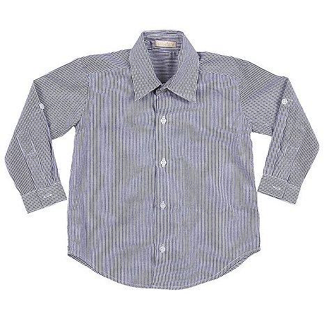 Camisa Classica Azul Marinho