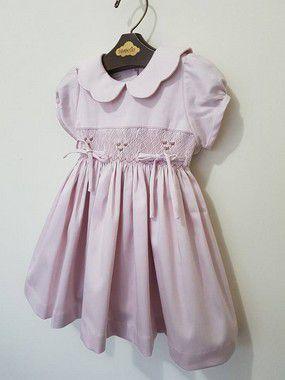 Vestido Casinha de Abelha Rosa Antigo Girl