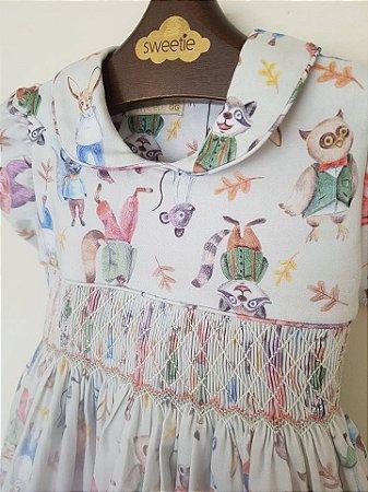 Vestido Casinha de Abelha Castor