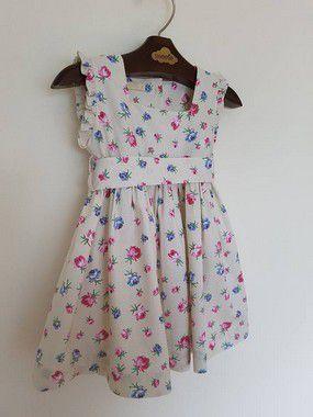 Vestido Flowers Girl