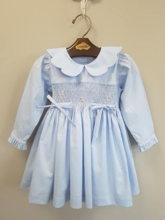 Vestido Casinha de Abelha Mel