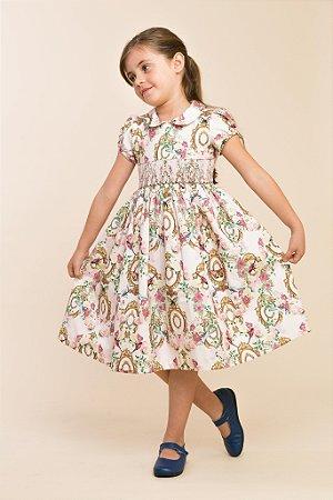 Vestido bordado Versailles Infantil