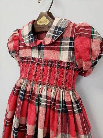 Vestido Bordado Casinha de Abelha Charlô